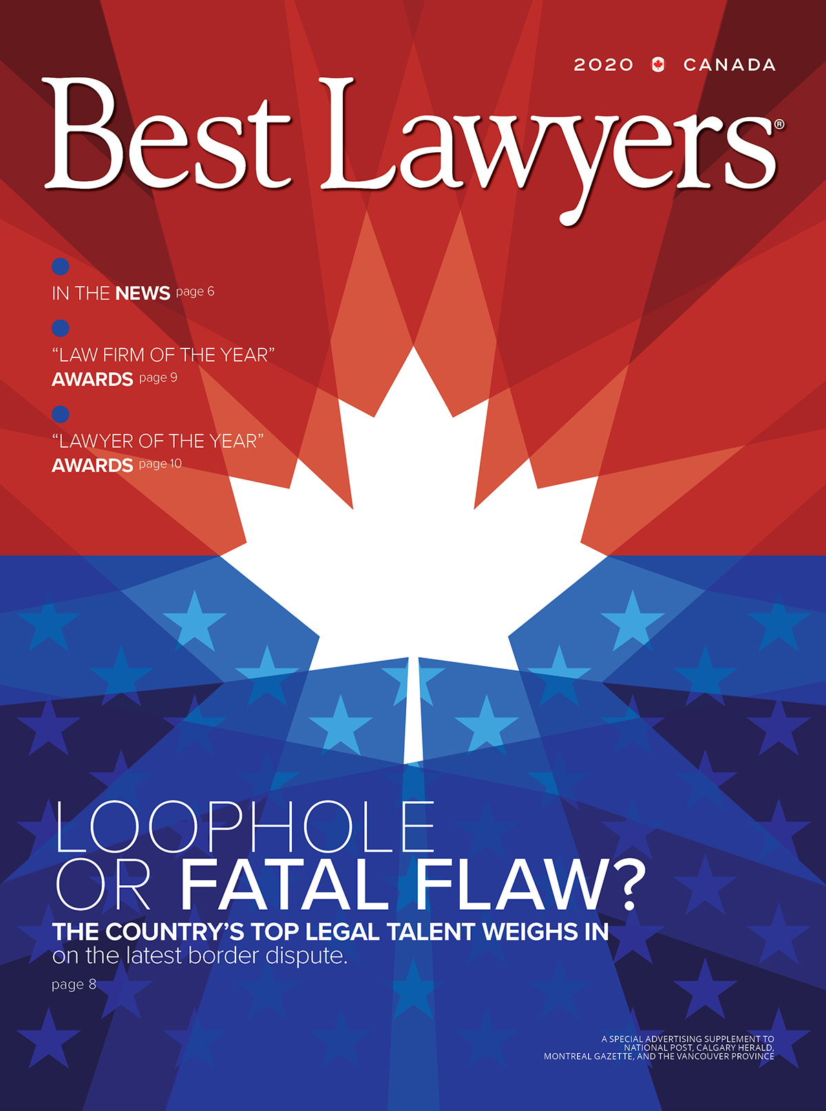 Cover for our Canada publication