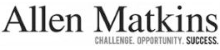 Logo for Allen Matkins - Challenge. Opportunity. Success.