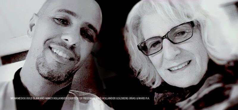 Nancy Hollander and Mohamedou Ould Slahi