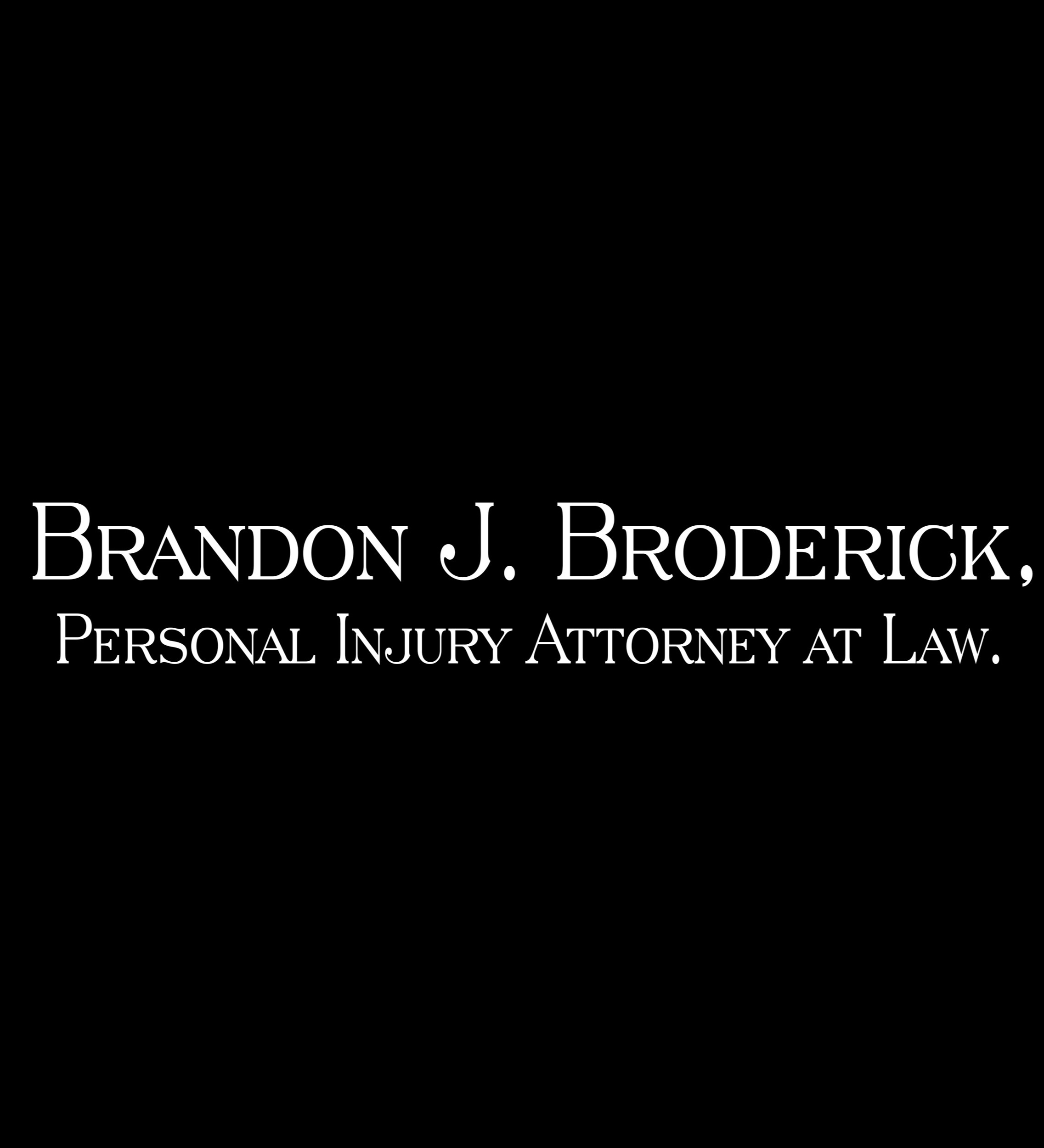 Brandon J. Broderick